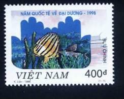 Vietnam Viet Nam MNH Perf Stamp 1998 : International Year Of The Ocean / Fish (Ms782) - Vietnam