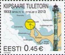 Estonia Estland 2013 MNH **  Mi. Nr. 754 Kiipsaara Lightouse - Estonie