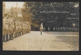 Le 14 Juillet 1919  à LUXEMBOURG - Carte Photo - Luxemburg - Town
