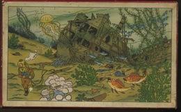 Puzzle Tintin Sur Bois, Circa 1958,  Le Trésor De La Licorne - Bücher, Zeitschriften, Comics