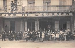 "¤¤  -   MONTAUBAN   -  Carte-Photo Du "" Café De L'Europe ""     -  ¤¤ - Montauban"