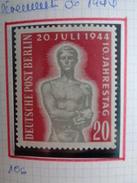 1954 -  Y&T N° 106 ** - SOULEVEMENT DU 20 JUILLET 1944 - [5] Berlin