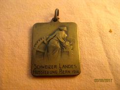 Suisse: Médaillette Exposition Nationale - Berne 1914 - Jetons & Médailles