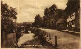 CPA - Angleterre -  Surrey  - EASHING BRIDGE (SHACKLEFORD) Cachet Postal GODALMNG) - Surrey