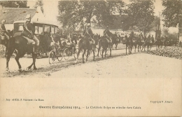 MILITAIRE 426 CPA  1914     La Cavalerie Belge En Retraite Vers Calais - War 1914-18