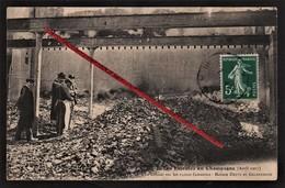 51 Marne - AY - Les Emeutes En Champagne _ Avril 1911 _ Le Constat Sur Les Ruines Fumantes - Maison Deutz Et Geldermann. - Ay En Champagne