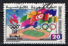 TUNISIA - 1996 - OLIMPIADI DI ATLANTA - USATO - Tunisia (1956-...)