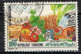 TUNISIA - 1995 - CAMPAGNA CONTRO LA DESERTIFICAZIONE - USATO - Tunisia (1956-...)