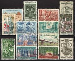 TUNISIA - 1959 - IMMAGINI DELLA TUNISIA - USATI - Tunisie (1956-...)