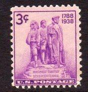 USA 1938 3c NW Territory Sesquicentennial, MNH (SG 847)