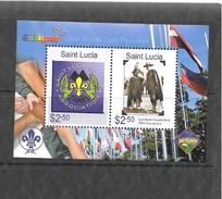 Mi.No. Block 71 St. Lucia MNH - St.Lucia (1979-...)