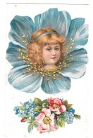 CPA.   ENFANTS . ILLUSTRATION ..CLAPSADDLE..  FLEUR.. TBE   SCAN..EDITE AVANT 1904. - Children's Drawings