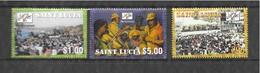 Mi.No. 1146-1148 St. Lucia MNH - St.Lucia (1979-...)