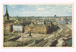 Stockholm, Slussen Och Skeppsbron - Sweden - Sverige - Suède