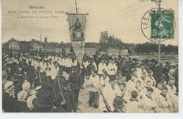 ORLEANS - PROCESSION DE JEANNE D'ARC - La Bannière De JEANNE D'ARC - Orleans