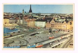 Stockholm, Slussen - Sweden - Sverige - Suède
