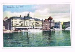 Stockholm, Grand Hotel - Sweden - Sverige - Suède