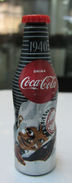 AC - COCA COLA 100th YEARS OF COLA  ALUMINUM MINI BOTTLE KEYRING -  KEY HOLDER 1940 BRAND NEW FROM TURKEY - Key Chains