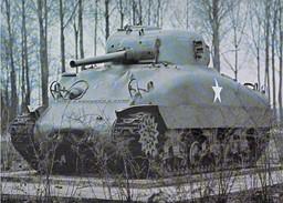 Military   M4A1 Sherman Sherman II In British Service 1975 - Ausrüstung