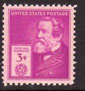 USA 1940 Famous Americans, Inventors, 3c McCormick, MNH, (SG 888)