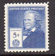 USA 1940 Famous Americans, Inventors, 5c Howe, MNH, (SG 889)