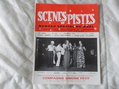SCENES ET PISTES La Revue Des Spectacles De Variétés Et Des Gens Du Voyage N° 218 Décembre 1978 - Books, Magazines, Comics