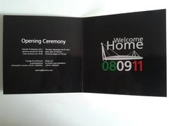 Alt989 Juventus Football Club Torino Invito Invite Opening Cerimony Cerimonia Inaugurazione Stadio Stadium Juve VIP Pass - Habillement, Souvenirs & Autres