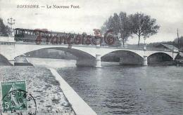 (02) Soissons - Le Nouveau Pont - Train Locomotive - Soissons