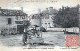 (86) Couhé Vérac - Le Puits Et Le Château - Autres Communes