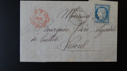 France - Enveloppe - GC3195 Ronchamp - 25c Cérès - Année 1875 - 1849-1876: Classic Period