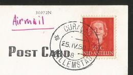 CURACAO Nederland Antillen Waaigaat Inlet Willemstad 1950 - Curaçao