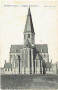 ALOST - Mylbeke - L' Eglise Notre-Dame - L.L - B. N° 17 - Stempelfout 1906-1960 - Erreur Dans Le Cachet - Aalst