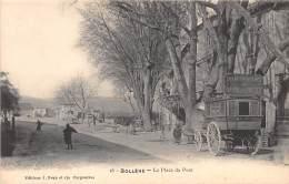 84 - VAUCLUSE / Bollène - La Place Du Pont - Beau Cliché Animé - Bollene