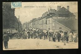 94 Val De Marne  Choisy Le Roi La Rue Du Pont Très Animée 1905 - Choisy Le Roi