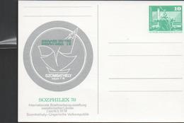 3119 Entero Postal  Sozphilex 78 DDR Nuevo. Alemania - Postales Privados - Nuevos