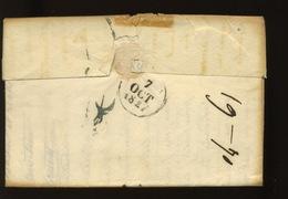 1827  Lettre De Paris Vers Avignon - Marcophilie (Lettres)