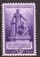 USA 1940 Abolition Of Slavery, MNH (SG 899)