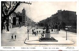 Spagna Tarragona  Timbro Censura Al Retro - Tarragona