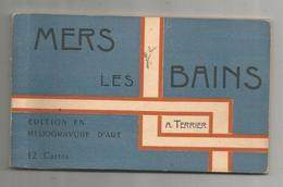 Cp, 80 , MERS LES BAINS , Edition En Héliogravure D'art , CARNET DE 7 CARTES POSTALES - Mers Les Bains