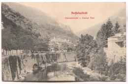HERKULESFURDO, HERCULANE, BAILE - Romania, Cserna Thal, Old Postcard, 1910. - Romania