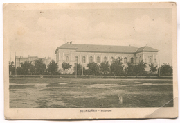 SZEKSZARD - Hungary, Old Postcard, 1911. - Hungary