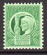 USA 1943 Four Freedoms, MNH (SG 905) - Etats-Unis