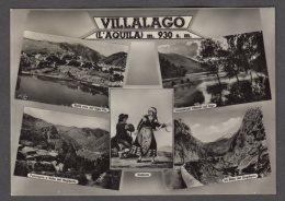 1956 VILLALAGO VEDUTINE FG V  SEE 2 SCANS - Italie