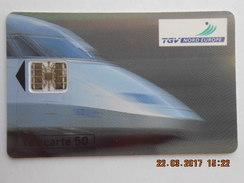 Télécarte 50  SNCF TGV Nord Europe PARIS - LILLE 100F 1h Sans Stress . 955.000 Ex  1993 - Trains