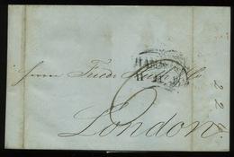 1843  Lettre   Vers LONDON - Marcophilie (Lettres)