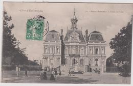 Ille  Et  Vilaine  :  Les  Bords De Rance , SAINT  SERVAN : L Hotel De Ville - Francia