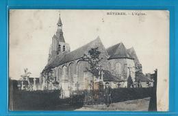 C.P.A. METEREN - L'Eglise - Cachet Postal De HAGENDINGEN ( Hagondange ) - France