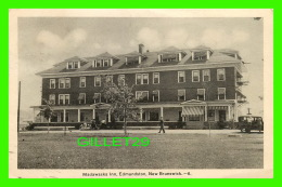 EDMUNDSTON, NB - MADAWASKA INN - ANIMATED - PECO - TRAVEL IN 1940 -