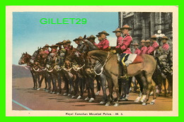 MÉTIERS -TROUPS OF THE  ROYAL CANADIAN MOUNTED POLICE - PECO - - Police - Gendarmerie