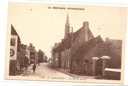 § PROMO § 29 - LANGUIDIC La Rue De Lorient Animée écrite - Frankreich